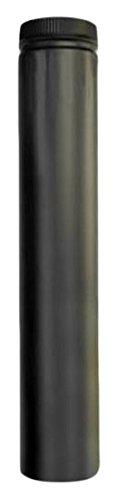 Selkirk Metalbestos Black 266036 6 X 36-Inch Matte Double Wall Smoke Pipe