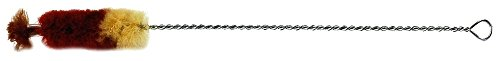 Gewa 755005 Spazzolino Flauto, Flauto Garklein, Impugnatura in Metallo, Lana