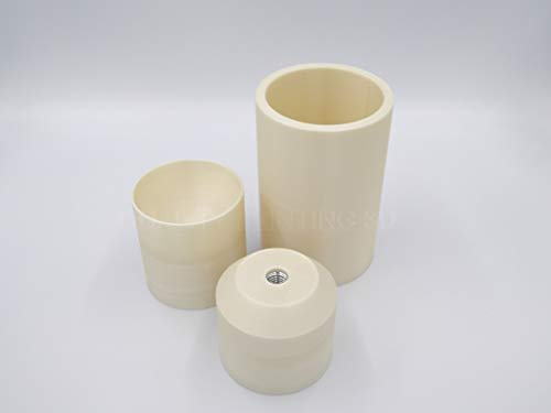 Bath bomb moulds press 5,7 cm, 7 cm, 7,6 cm Kolbenmaschinenseifenform Gewinde M12 (5,7 cm).