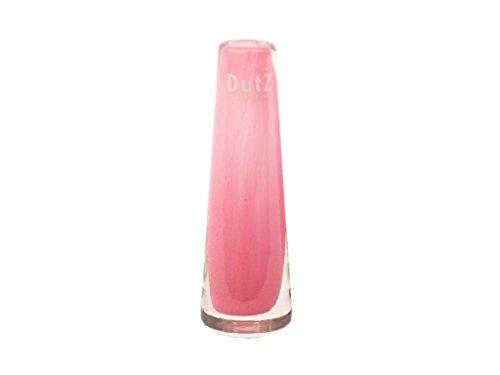 Dutz schmale/schlanke Glasvase SOLIFLEUR D5 H15 Fuchsia/pink/rosa Glas