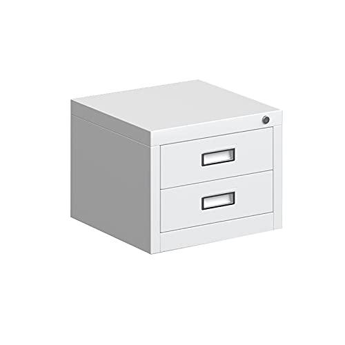 Caja de Almacenamiento de Escritorio, Tipo de cajón Oficina A4 Rack de Archivos, Escritorio Almacenamiento de cosméticos y artefacto de Acabado (Size : 15.74×15.74×12.2inch)
