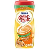 COFFEE MATE Sugar Free Hazelnut Powder Coffee Creamer 10.2 oz. Canister - PACK OF 12