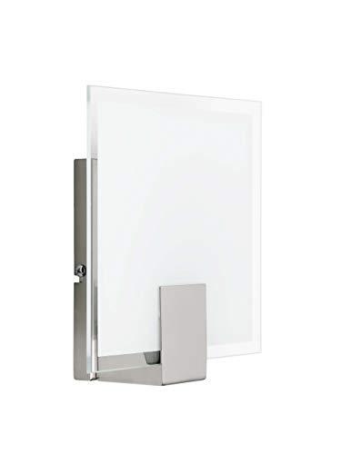 Brilliant Sonian Wandleuchte in eisen / weiß 90324/13 | Ideal als Wandlampe für das Esszimmer, die Küche, das Schlafzimmer und so weiter | Wandspot für LED Leuchtmittel geeignet