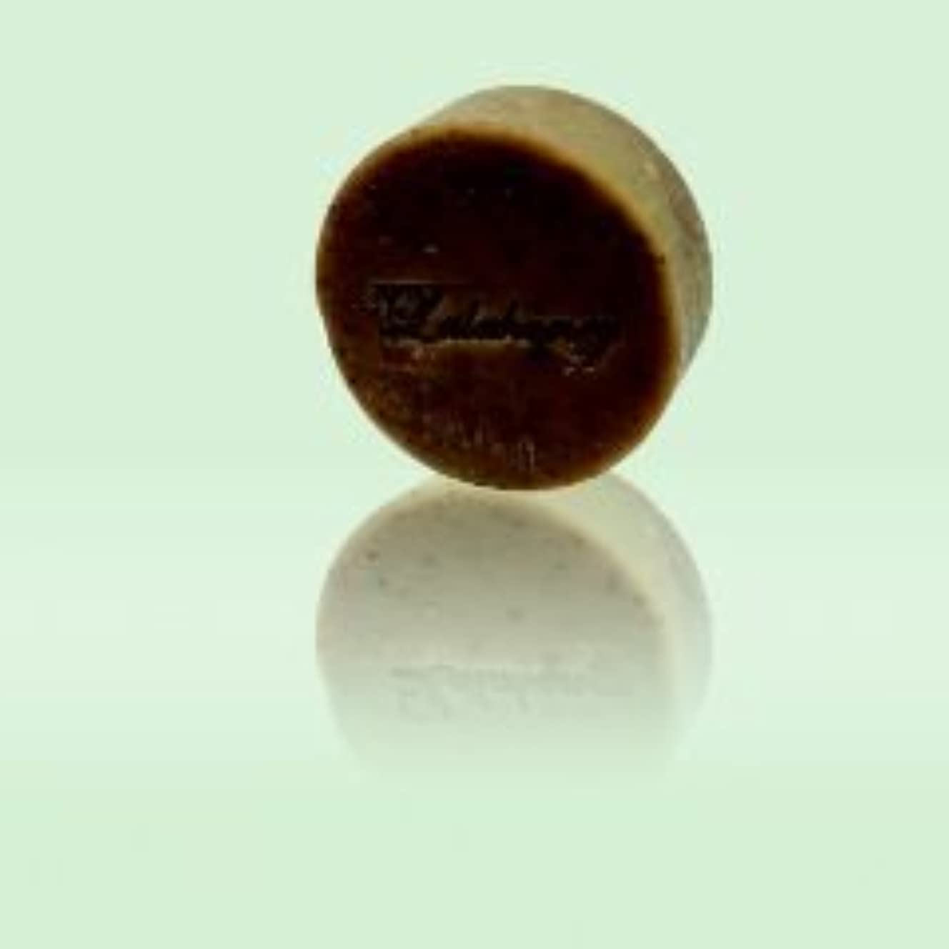 レンダー壁スリチンモイLALAHONEY 石鹸〈チョコレート&オレンジ〉80g【手作りでシンプルなコールドプロセス製法】