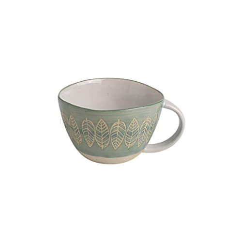 Coffee Cup Taza de cerámica en Bruto Taza de Agua Creativa Taza de té para el hogar Femenino Taza de café Taza de cerámica Hecha a Mano Taza de Leche