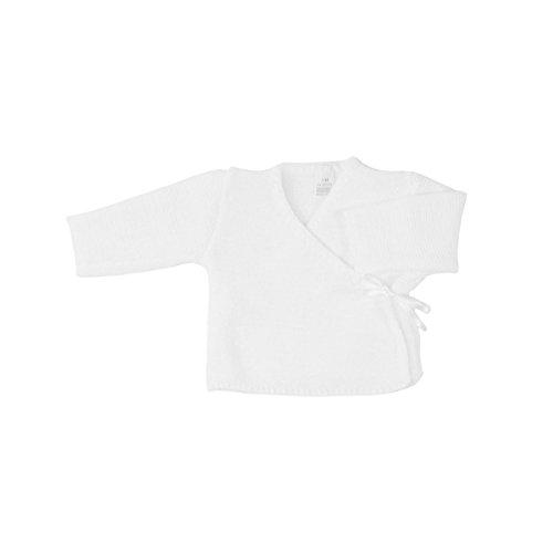 Cache-coeur pour bébé 0 à 3 Mois blanc