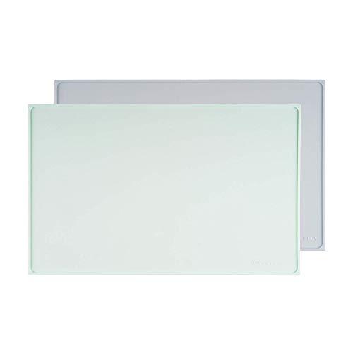 PETFULLY – Silikon Napfunterlage, 48 x 30 cm/mintgrün