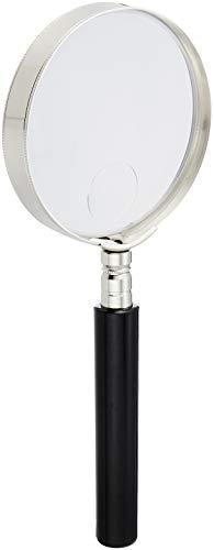 TSK 手持ちルーペ ダブルピント虫メガネ 倍率2.5倍 レンズ径65mm サブレンズ5倍 RX-65W