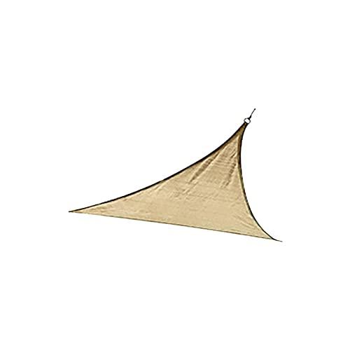 TGUS Sombrilla velas, parasol, antiultravioleta, toldo de toldo, transpirable y resistente al viento, para jardín terraza césped (beige, tamaño: tipo 1)