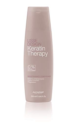 ALFAPARF Milano Lisse Design Keratin Therapy Maintenance Conditioner, 250 ml