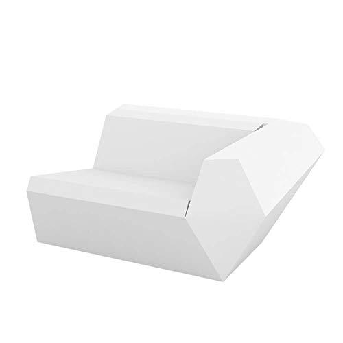 Vondom Faz canapé module gauche blanc
