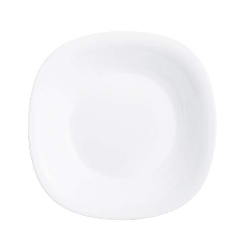 Luminarc P1865 - Plato para postre (6 unidades, cristal), color blanco