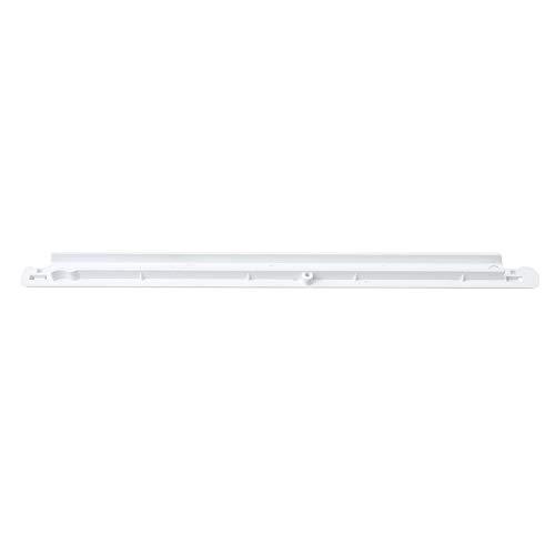 RDEXP Plastic 240365401 Gefrierkorbaufhänger für die linke Seite Kühlschrankschiene Haushaltsgerät Gefrierschrankzubehör Weiß