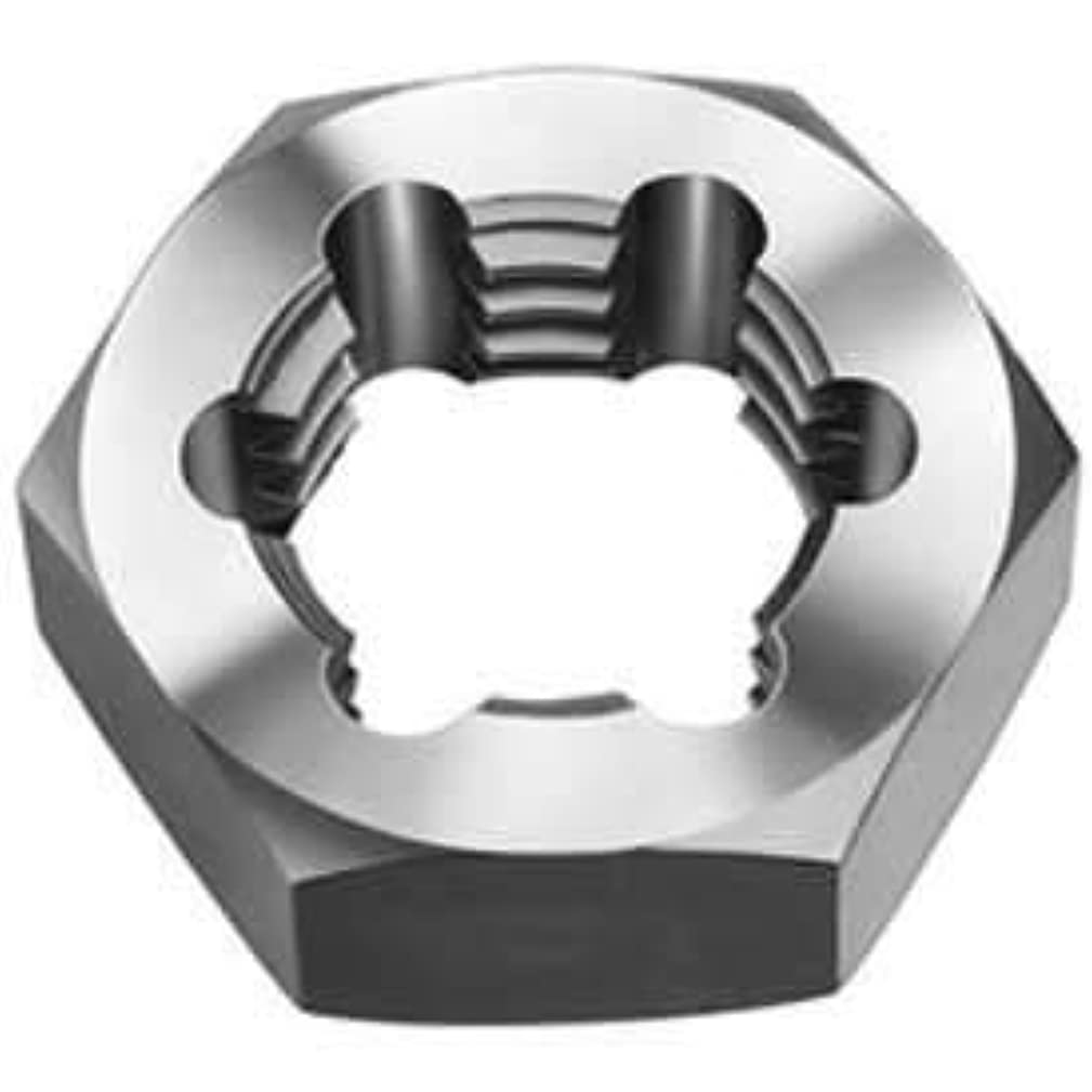 Made in USA Hex Re-Threading Die, 3/4-16, Carbon Steel