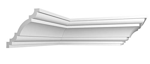 20 m + 4 Ecken Zierleisten Zierprofile Styropor leisten 120x110mm K 3