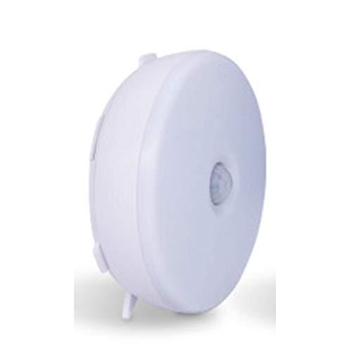 HJHNZDZH Battery Powered LED Nightlight, Wardrobe Light, LED Motion Sensor Light, Stick Anywhere, Night Light, for Bedroom, Bathroom, Kitchen, Hallway, Stairs, Hallway (Color : White)