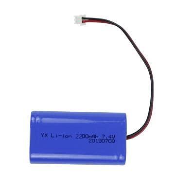 zhoudashu 7.4v 2600mah 2200mah 3200mah 18650 Batterie Li ION, Rechargeable avec Connecteur XH2.54 7.4v2200mah