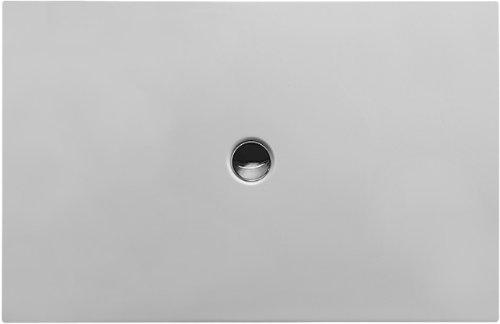 Duravit Bodenbündige Duschwanne 140x90cm Rechteck, weiß, 720091000000000