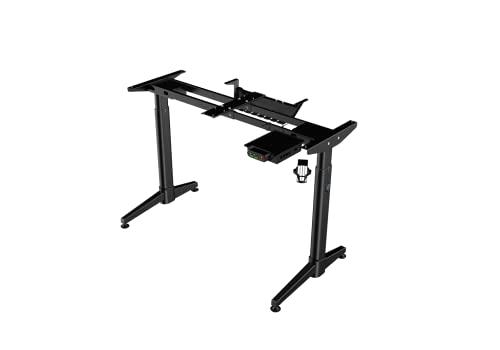 RGo Desk Frame – Escritorio de mesa ajustable en altura eléctrica con 2 motores – Marco soporte patas motorizadas – Soporta 100 kg
