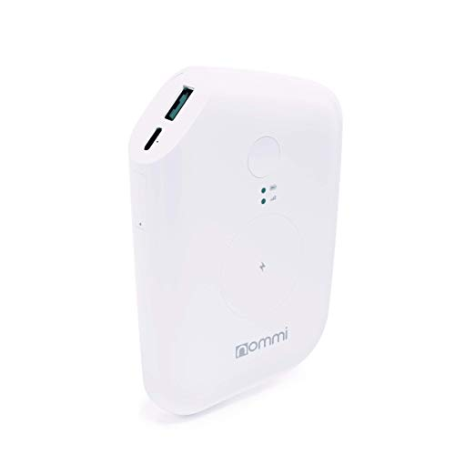 Nommi:Punto de Acceso móvil | Dispositivo de Punto de Acceso Wi-Fi Desbloqueado 4G LTE asegurado| 10GB de Datos US +VPN | Extensor Wi-Fi |eIM/SIM en 150 países |10000 mAh (Diseño de energía -Blanco)