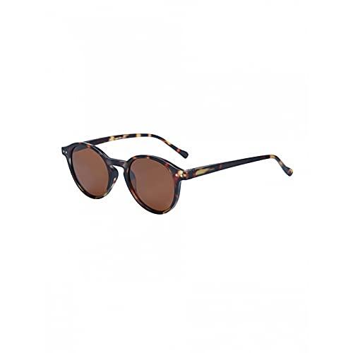Q4S Gafas De Sol Polarizadas Gafas De Sol con Montura Redonda Pequeña para Hombres Y Mujeres Gafas Uv400 Gafas Opacas,F
