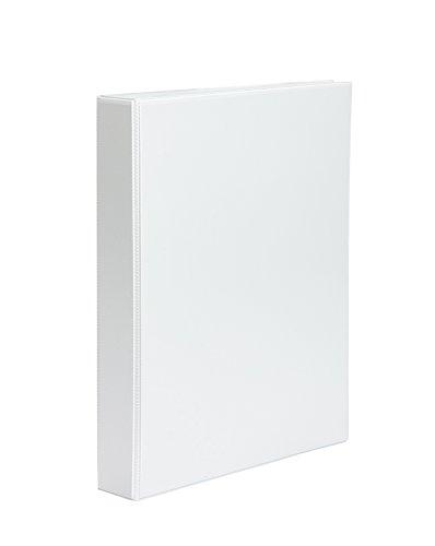 Pardo 781938 - Carpeta personalizable 2 anillas, 40 mm, A4 color blanco