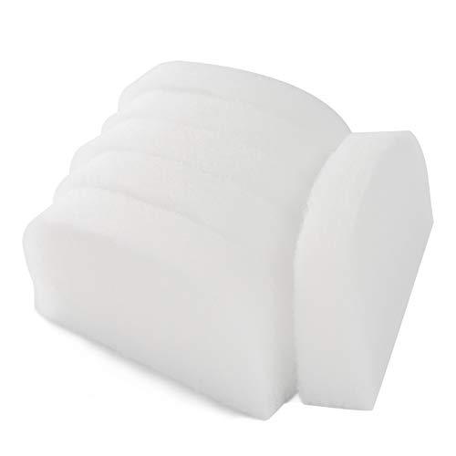 LTWHOME 150mm x 75mm x 25mm Polieren Filterschwamm Passend für Fluval 104 105 106 204 205 206(6 Stück)