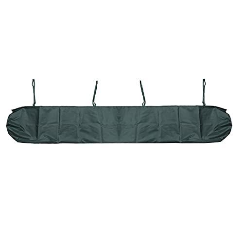 Itlovely Cubierta impermeable para toldo de jardín, protección solar, bolsa de almacenamiento