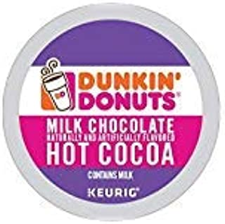 Dunkin' Donuts Milk Chocolate Hot Cocoa Single Serve K-Cups for Keurig Brewers, 24..