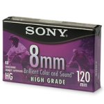 Sony Video Cassette Tape, 8 MM High Grade, 120 Minutes
