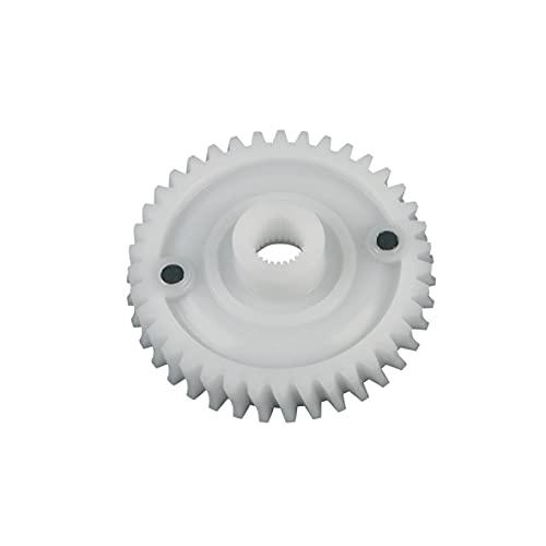 Saeco 226000300 oryginalny mechanizm mielący 38 zębów biały z magnesem np. INCANTO XSMALL SYNTIA TALEA ODEA PRIMEA XELSIS ekspres do kawy również Philips 996530029609