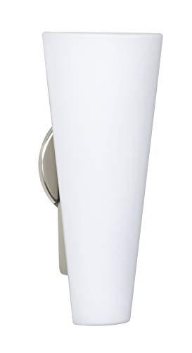 Besa Lighting 780407-SN Tino 13 - Two Light Outdoor Wall Sconce, Choose Finish: SN: Satin Nickel, Choose Lamping Option: 40W Incandescent-B10 Medium-120v