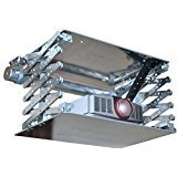 L-Lift KOMPAKT Beamer Deckenlift, Projektor Lift mit 60cm Hub inkl. Funksteuerung & inkl. Fernbedienung