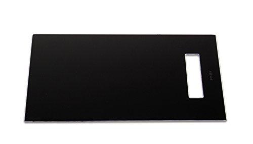 Schock 629075 Horizont Planche à découper en verre trempé Noir 537 x 394 x 4 mm