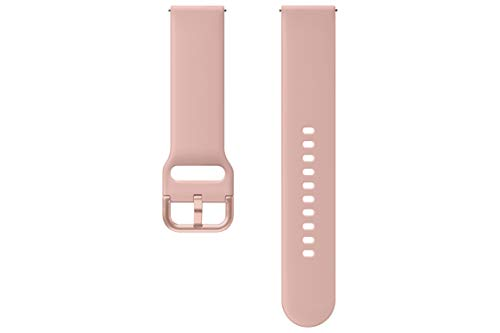 Samsung Galaxy Watch Active2 Sport Band, Pink Gold