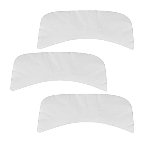Minkissy 100Pcs Cou Rides Tapis Soie Naturelle Cou Masques Réutilisables Pad Anti Rides Remover Patches pour Anti Vieillissement Hydratant