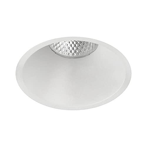 KIDAL 3771/8 - Lámpara led empotrable para techo (IP23, diámetro de 8 cm, COB, 7 W, 4000 K, 600 lm, no regulable)