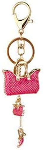 Premium Handbags and Shoe Key Chain Maroon