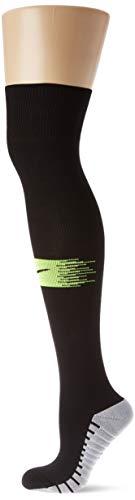 Nike Team MatchFit Over-the-Calf Socken, Black/Volt/Black, L