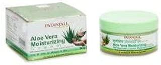 Patanjali Aloe Vera Moisturizing Cream 50 gm (PACK of 6)