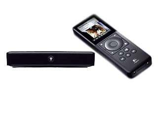 Logitech Squeezebox Duet Tragbarer Netzwerk-Musikplayer (6,1 cm (2,4 Zoll) TFT-Farbdisplay, 802.11b/g-WiFi) schwarz