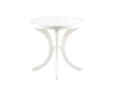 Bica Capri 160 Table, Blanc, 76 x 76 x 11.8 cm