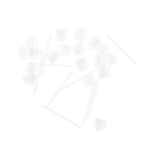 Lurrose Pompe de Distribution de Parfum Pompe de Recharge de Parfum Outil de Transfert de Pompe de Distributeur Cosmétique pour Voyage Vaporisateur de Parfum Rechargeable Flacon Pulvérisateur (50Pcs)