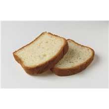 European Bakers Mountain Farm Gluten Free Round Top White Bread -- 72 per case.
