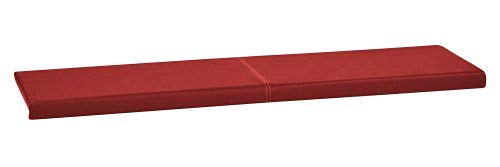 Coussin XXL à coller - Pour assise et dossier de banquette - En cuir synthétique - Longueur : 150 cm