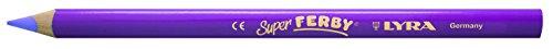 Lyra Super Ferby 1- Pastelli, Miniera: 6,25 Millimetri, L: 18 Cm, 12 Pc, Luce Viola.