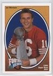 Joe Montana (Football Card) 1991 Upper Deck - Football Heroes - Joe Montana #3