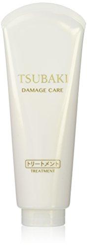 Shiseido Tsubaki Damage Care Treatment 180g (Green Tea Set)