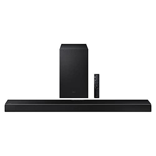 Samsung HW-Q600A Q-Symphony Cinematic Dolby Atmos Q-Series Soundbar for TV (2021), True 3.1.2ch sound, Acoustic Beam, Adaptive Sound, Black