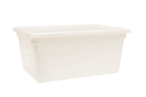 Review Rubbermaid Commercial Products Food Storage Box/Tote for Restaurant/Kitchen/Cafeteria, 16.5 G...